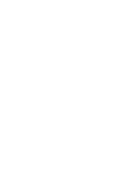 Icon logo Beehived Media (white) - Beehived Media swirl with play button inside - Beehived (bold) Media underneed the logo
