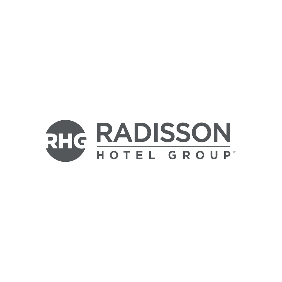Logo RHG - Radisson Hotel Group (grey)