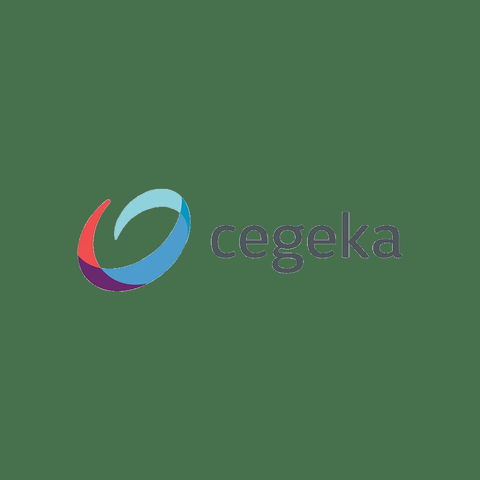 Logo Cegeka (colored letter c)
