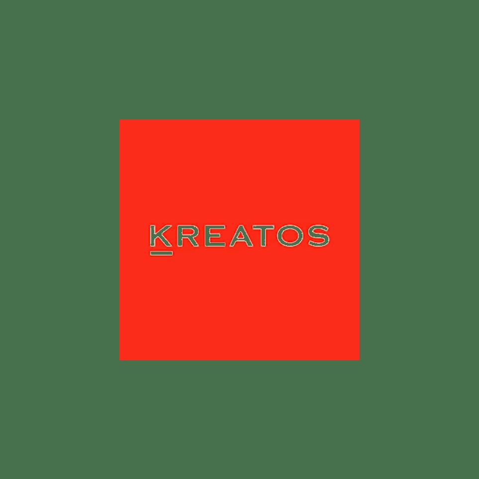 Logo Kreatos (red box)